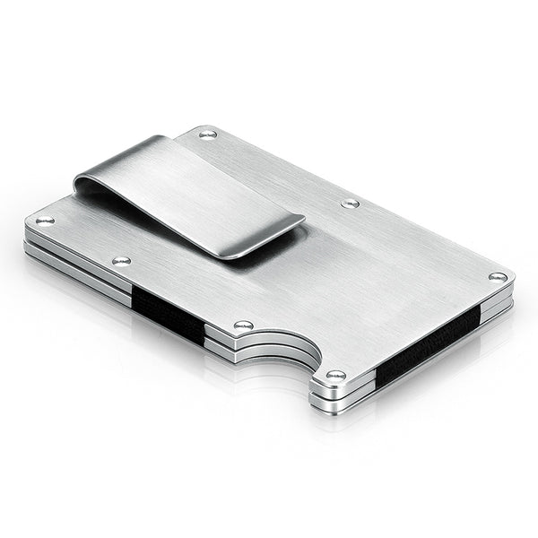 Beautifully and Securely Engineered Aluminum RFID Wallet & Card Holder