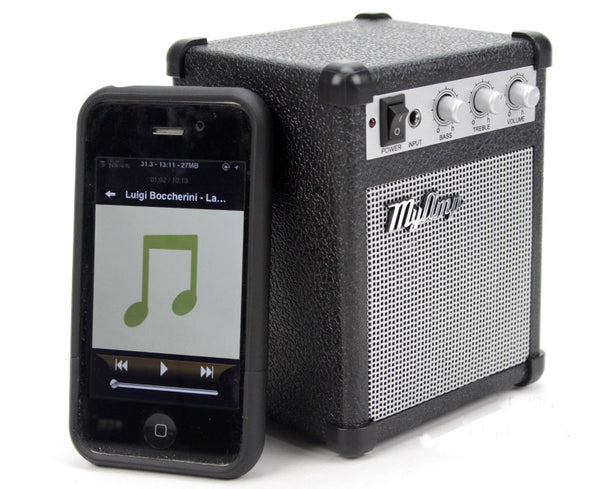 Mini Retro-style Speaker & Amplifier - Go Back With Your Favorite Music