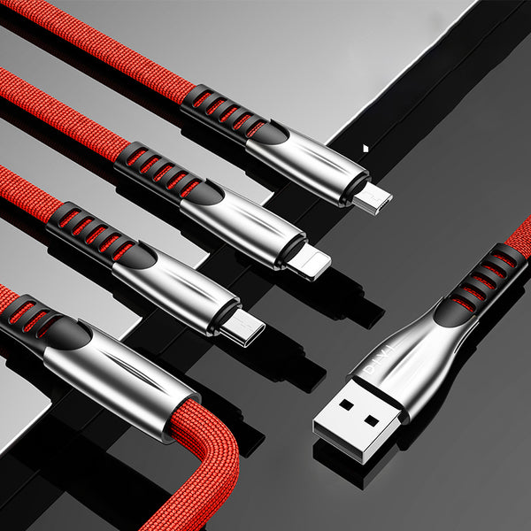 The Last USB Charger Cable You Need To Buy -- 3 in 1 Multiple Charger Cable