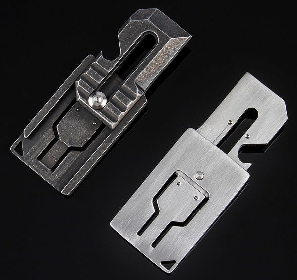 The Ultimate Keychain Folding Card Knife for Everyday Carry
