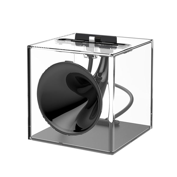 Coolest Passive Sound Amplifier & Charging/Stand Dock For iPhone