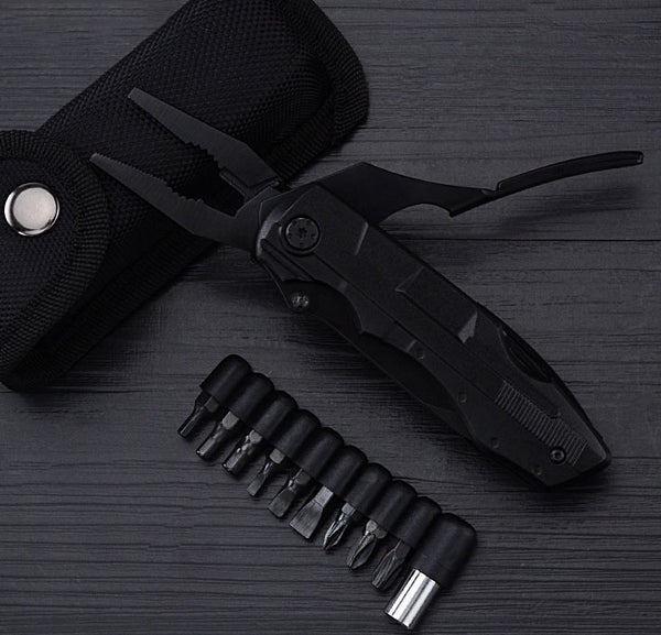 Survive Trials & Tribulations with 17-in-1 Full-size EDC Multitool
