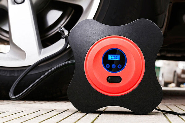 The Most Portable and Smart Electric Car Air Pump with Digital Display
