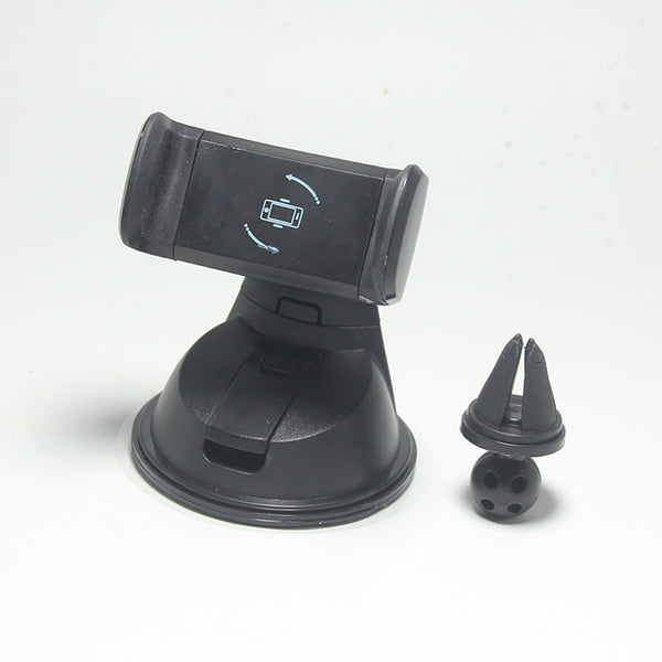 360° Rotatable Car Mount - The Most Secure and Gentle Way to Hold Your Phone in Car