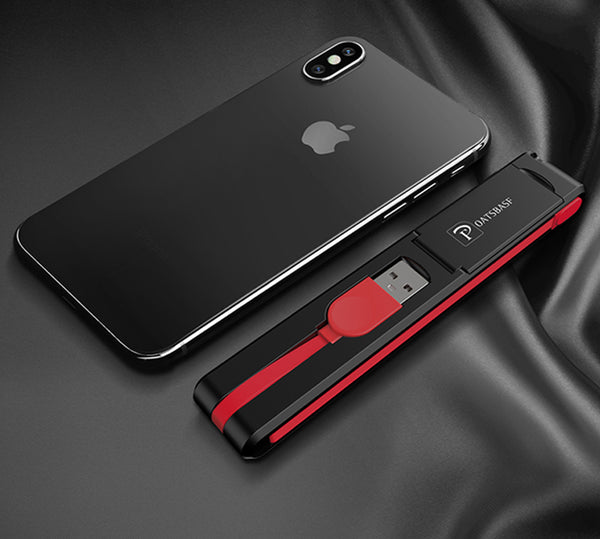 3-in-1 USB Cable & Phone Holder - The Only Cable You Need for All Devices