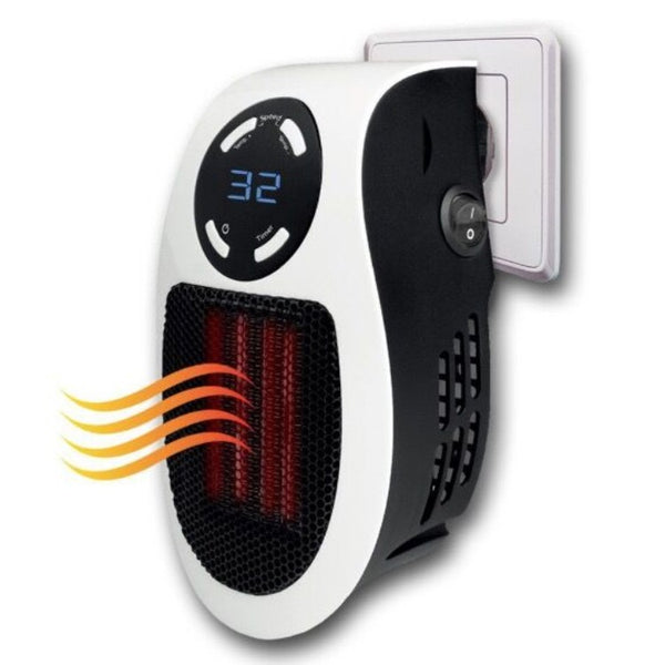 Get Toasty with Handy Heater That Attaches to Any Outlet