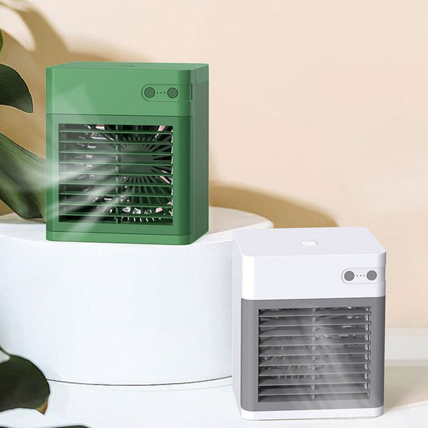 3-in-1 Cooling Fan Humidifier, with 3 Wind Modes, Adjustable Angle & Ultra-quiet Design, for Home & Office
