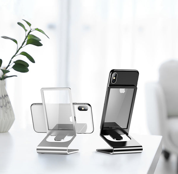 Display Your Phone with a Touch of Sparkle with Solid Glass Gadget Holder