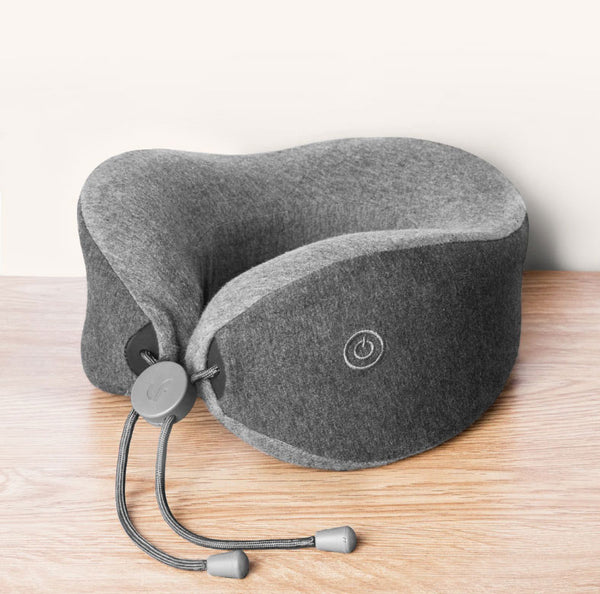 Catch up on Sleep Anywhere and Wake up Pain-free with Neck Massage Pillow