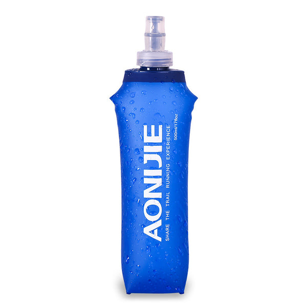 Don't Just Hydrate - Collapsible Medical-grade Water Bottle with Straw & Cap