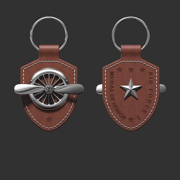 Rotatable Propeller Key Chain For Gift, Decoration, Car Key & Souvenir