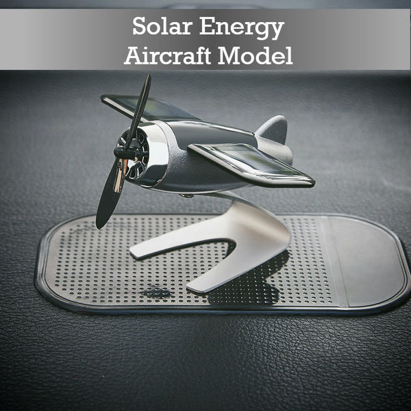 Solar Energy Aircraft Model: Decorate Your Car, Decorate Your Mood