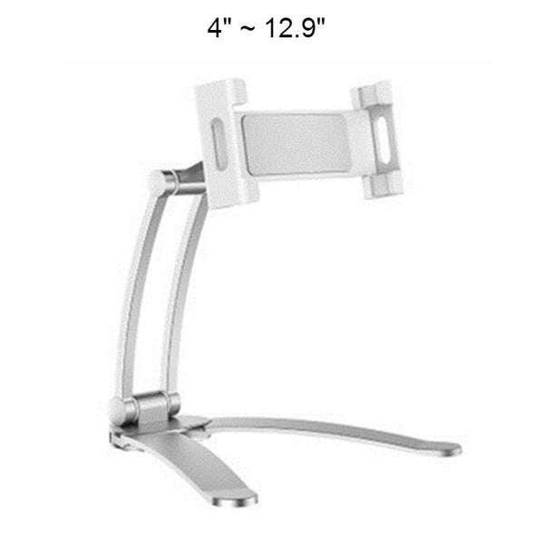 2-in-1 Desktop/Wall Phone Bracket, with Adjustable Design, Stable Base and High-quality Material, For Kitchen, Home and Office