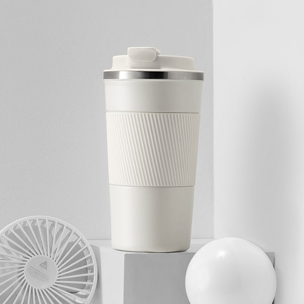 Stainless Steel Insulation Mug, with  Spout Lid, Leak-proof Design and Large Mouth for Easy Cleaning