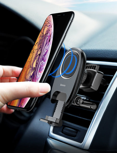Use Your Phone Guiltlessly During Drive with Smaller-than-ever Magnetic Phone Mount