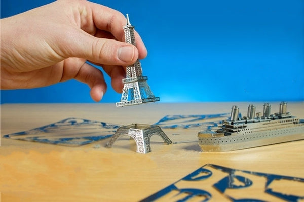 DIY 3D Laser Cut Metal Models
