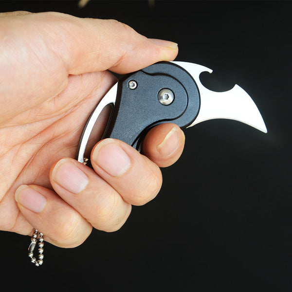 The Great Sharpy Folding Knife And Bottle Opener