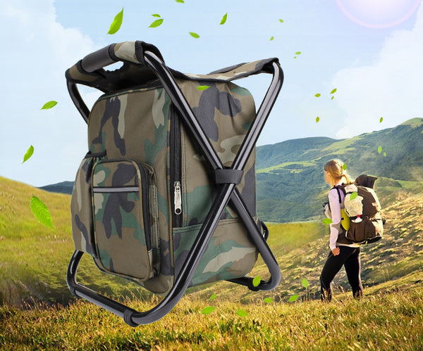 3-In-1 Portable Folding Chair -- Fall In Love With The Outdoors