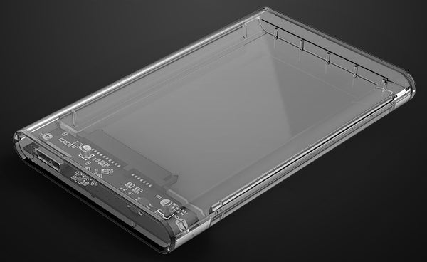 Full Transparent USB3.0 Hard Drive Adapter