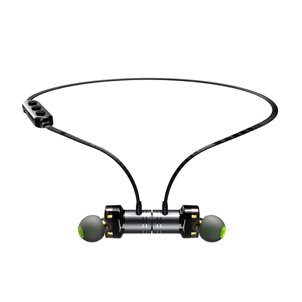 Dual-driver 4-Cavity Magnetic Bluetooth Earphones That Don't Let A Little Bit of The World in