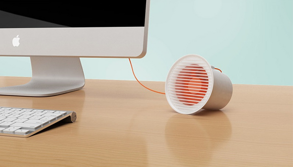 Coolest Portable Desk Fan - An Aircraft Engine on Your Desk