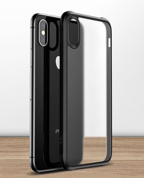 Slim & Anti-scratch Transparent Acrylic Phone Case with 7D Shockproof Airbag Compatible with iPhone 11/11 Pro/11 Pro Max/X/XS/XS Max/XR/7/8