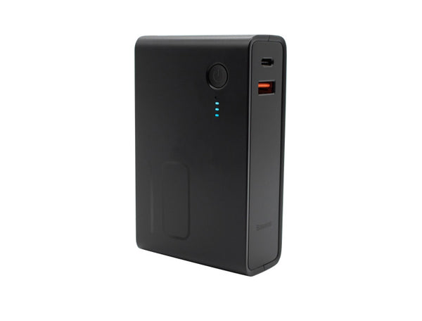 10000mAh 2-in-1 Portable Power Bank & Wall Charger, Type-C & USB Dual Outputs