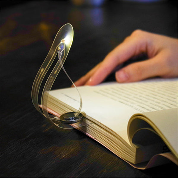 Mark Your Place with Super Creative Bookmark That Doubles as a Lamp
