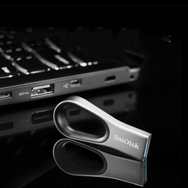 Loop USB 3.0 Flash Drive, with 130MB/s Transfer Speed and Password Security, for Study and Work