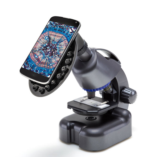 Explore the Miniature World with Intuitively Simple Smartphone-activated Microscope