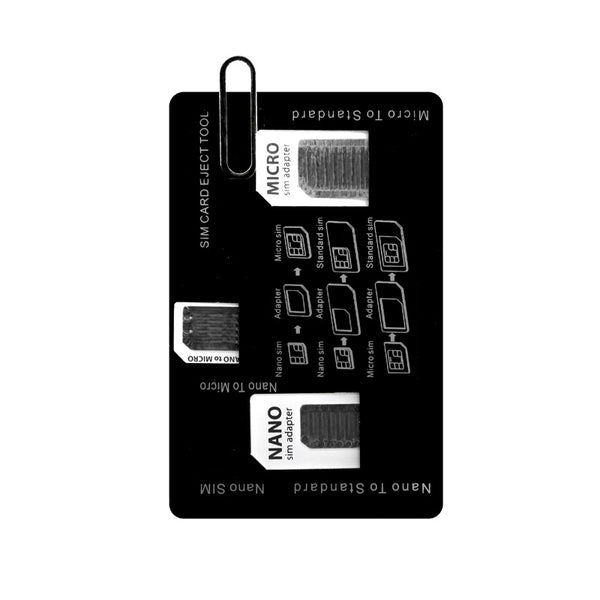 SIM Card Adapter -- One Set, All Sizes