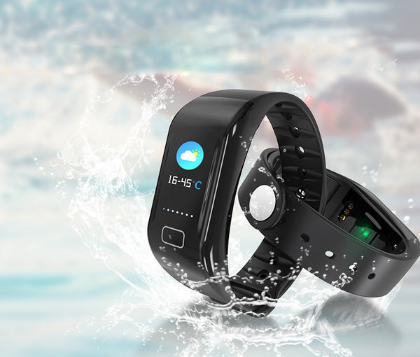 Accurate All-in-One Color Screen Fitness Wristband - Your Life Assistant on the Wrist