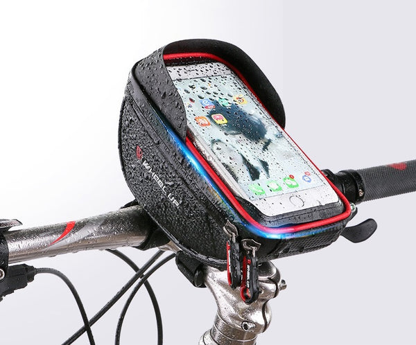 Enjoy Secure Viewing & Storage on the Go with Bike Phone Mount Bag