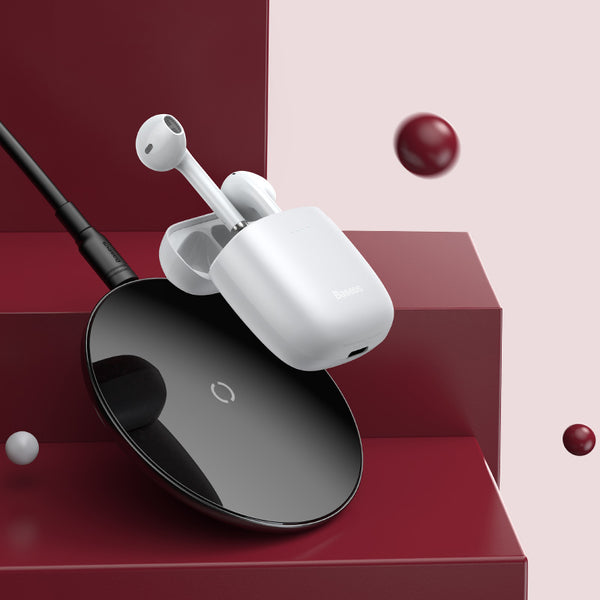 TWS True Wireless Bluetooth Headset with Bluetooth 5.0, Tri-band Equalization, Long Battery Life and Touch Operation, Support for Wireless Charging and Automatic Connection
