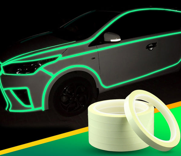 Solar Energy Luminous Waterproof Tape, for Safety, Stairs, Car, Doors and More (1 Roll)