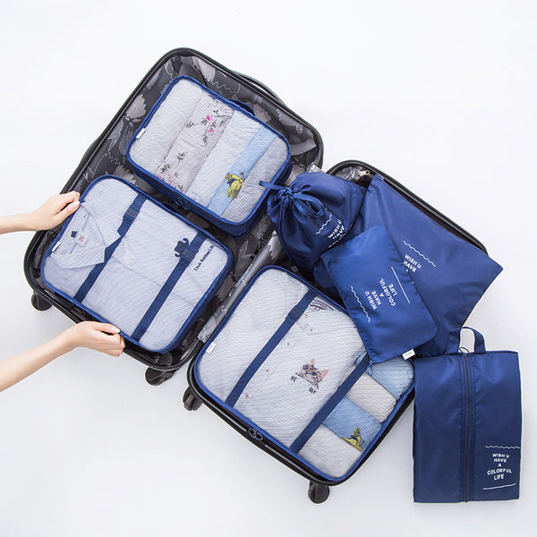 Pack Better with the Ultimate 7-piece Travel Organizer Set