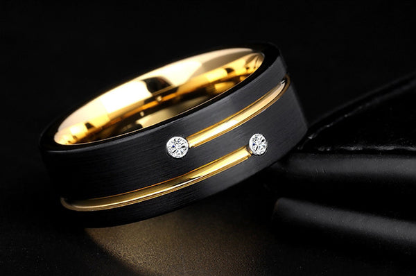 Kick Your Style up a Notch with Tungsten Ring