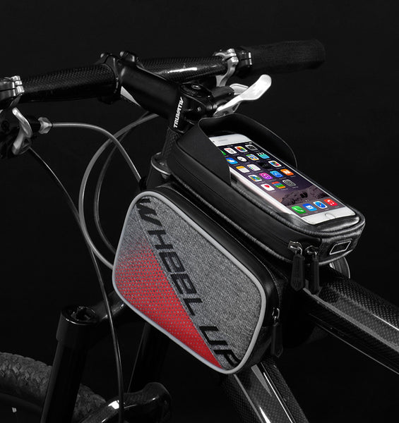 Kickstart Your Ride to Fitness with Smartphone Bike Mount & Panniers