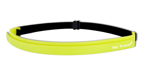 Silicone Head Band That Pulls Sweat & Hair away