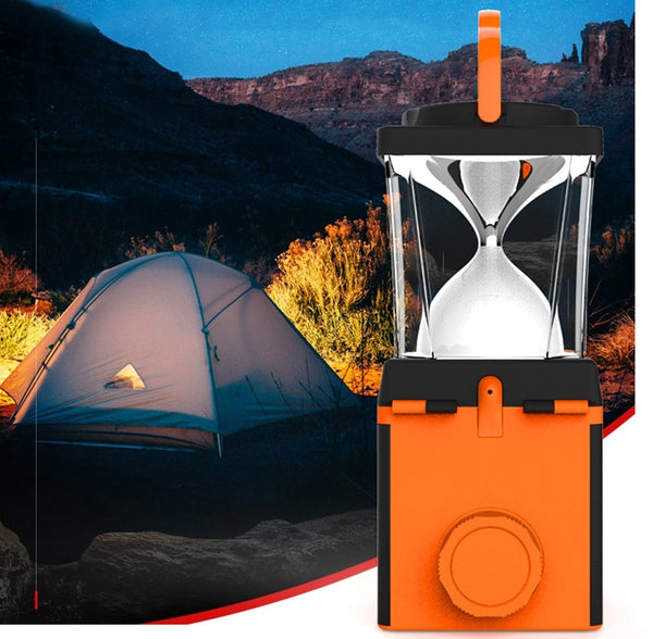 Salt Water Power Generator LED Camping Light + Power Bank