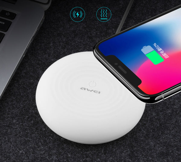 Smart Wireless Charger That Makes Meditative Mood Light