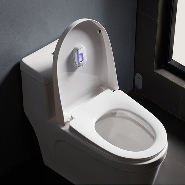 UV Ozone Toilet Sterilizers, with Automatic Start & Rechargeable Design, for Disinfection & Deodorization