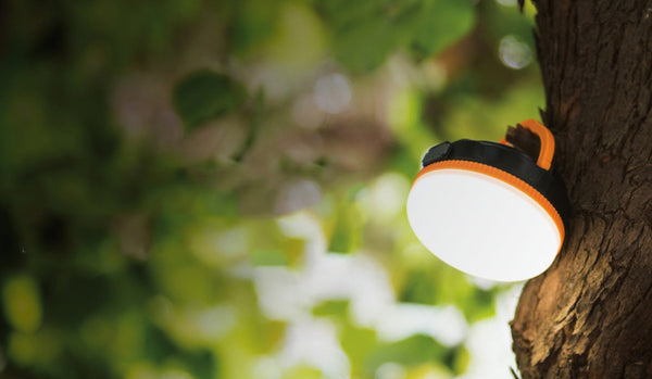 Rechargeable Magnetic Camping Light That Sports a Power Bank
