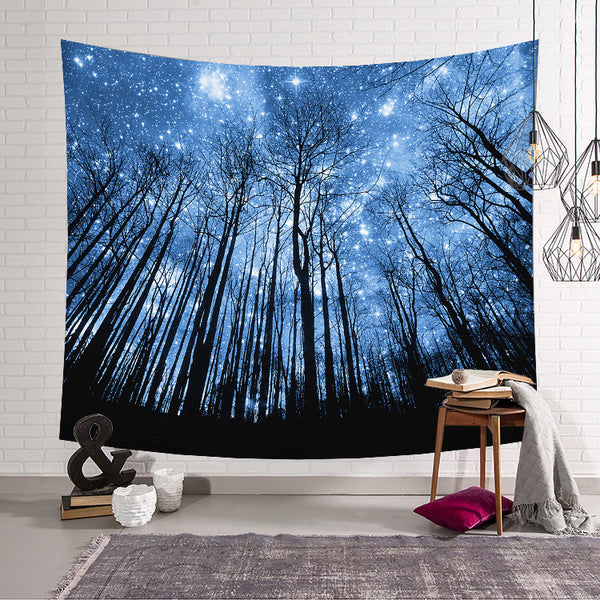 Transport Yourself to Forest with Lightweight Wall Tapestry