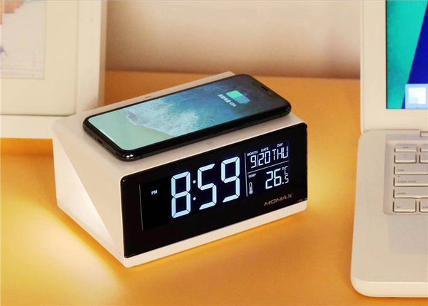 The Great Get Together - Wireless Charger, Alarm Clock & Bedside Lamp