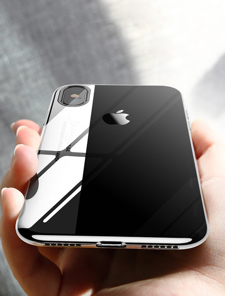 Crystal Clear Ultra Thin Soft Case for iPhoneX