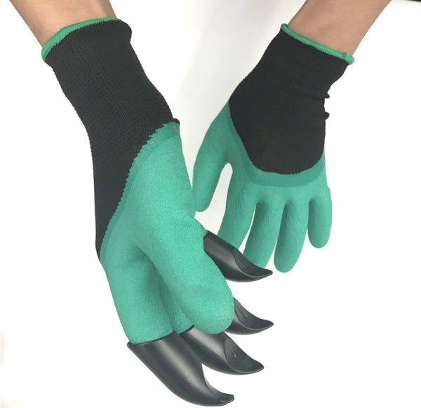 Perfect Garden Gloves With Claw, Prevent Broken Fingernails & Bruised Fingertips