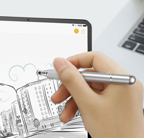 Let Your Ideas Run on Any Surface with 2-in-1 Precision Stylus Pen