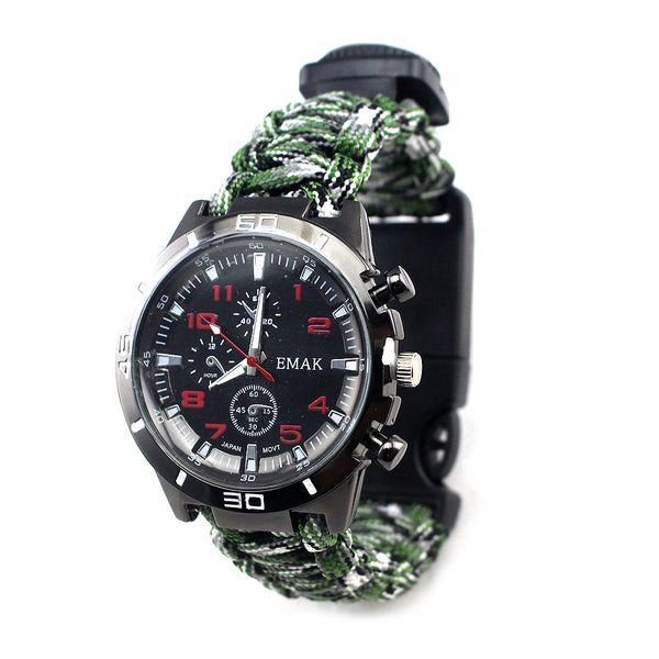 A Watch That Hides a Survival Kit - Stay Fearless Stay Alive