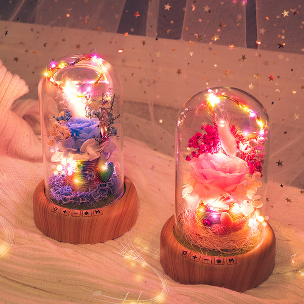 Ideal Marriage of Bluetooth Speaker & Art Decor Lamp
